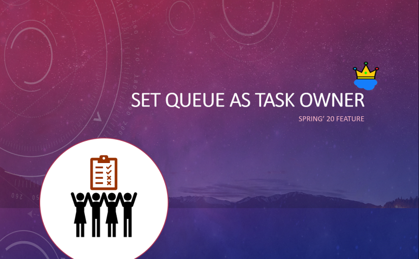 Assign Task Ownership to a Queue